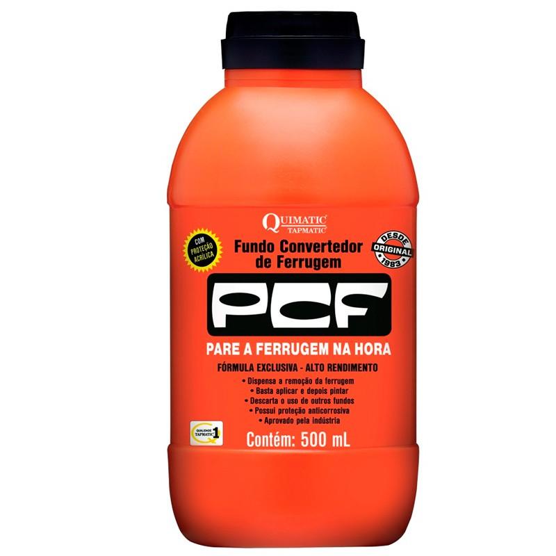 Fundo Convertedor De Ferrugem PCF 500ML QUIMATIC TAPMATIC