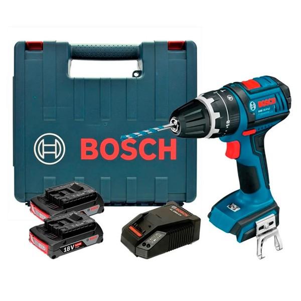 Furadeira/Parafusadeira Com Impacto A Bateria GSB 18V LI 220 Bosch
