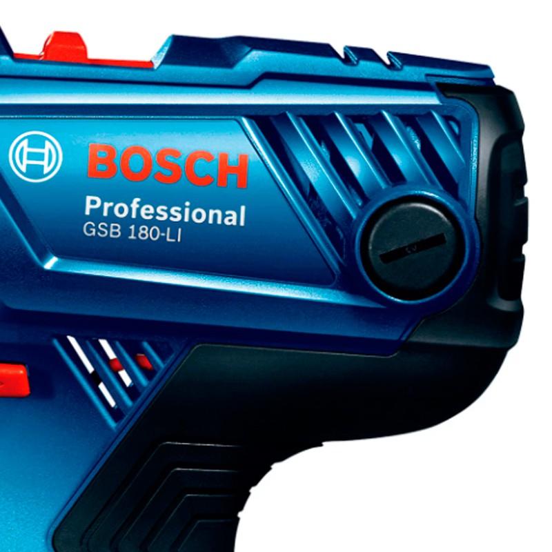 Furadeira/Parafusadeira Impacto 1 Bateria GSB 180LI Bivolt Bosch