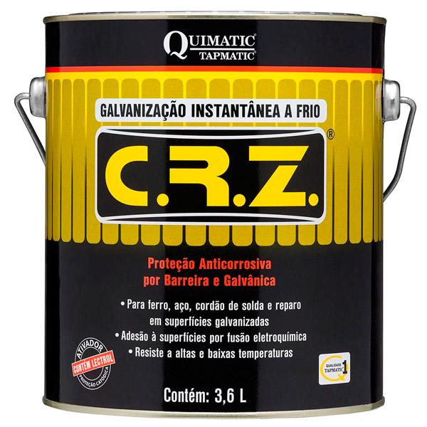 Galvanizador A Frio (CRZ) Galão de 3,6 Litros Quimatic Tapmatic
