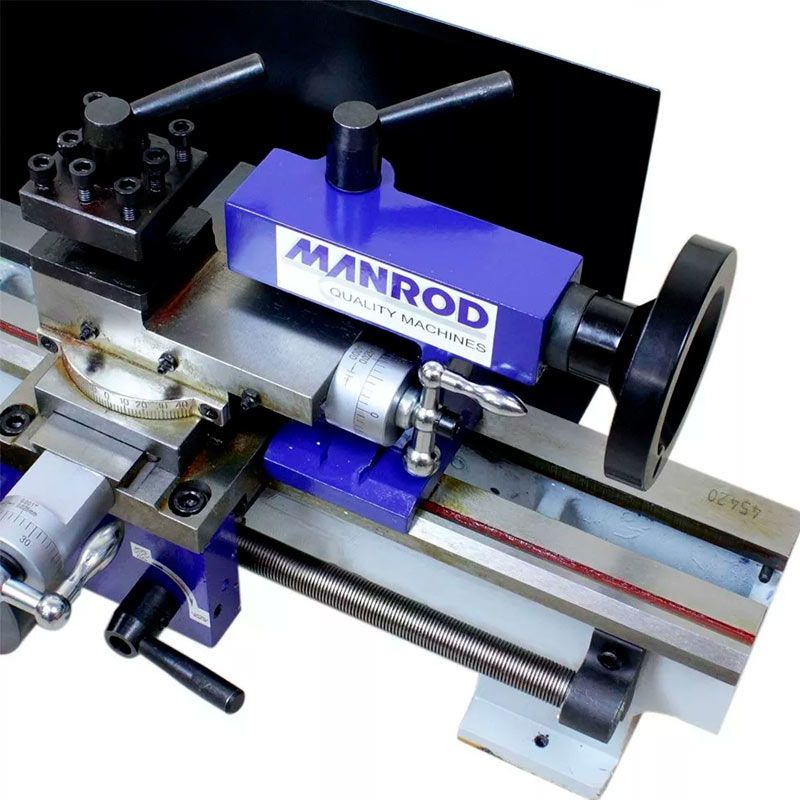 Mini Torno MR-300 180X300MM 220V Monofásico Manrod