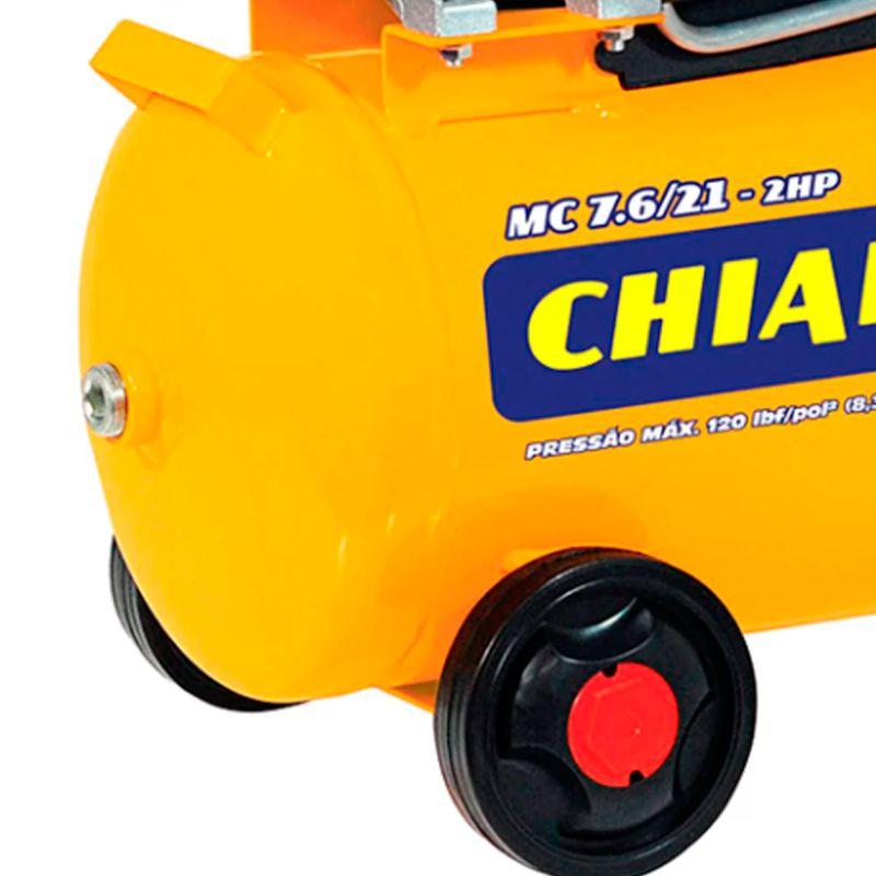 Motocompressor De Ar 7.6 2HP 120 LBF 220V 22843 Chiaperini