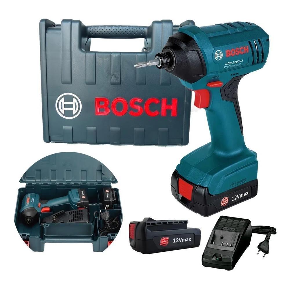 Parafusadeira Chave Impacto 19B3 GDR 1200-LI 2 Baterias 127V Bosch
