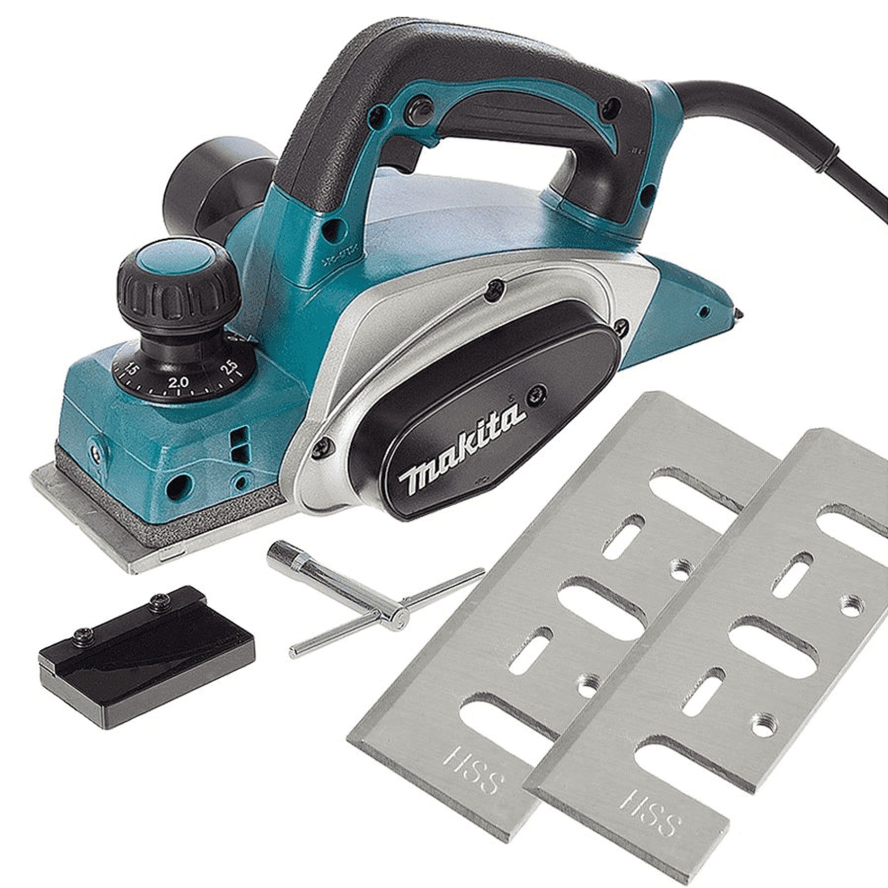 PLAINA ELETRICA 82MM 220V KP0800 MAKITA