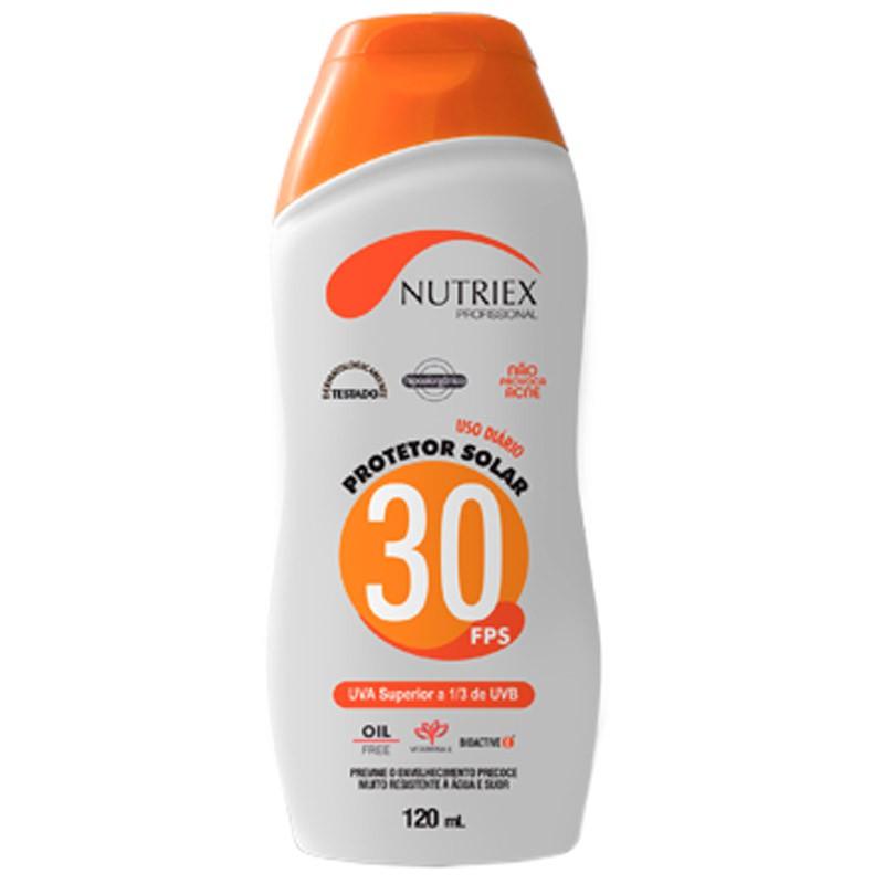 Protetor Solar FPS30 120ML NUTRIEX