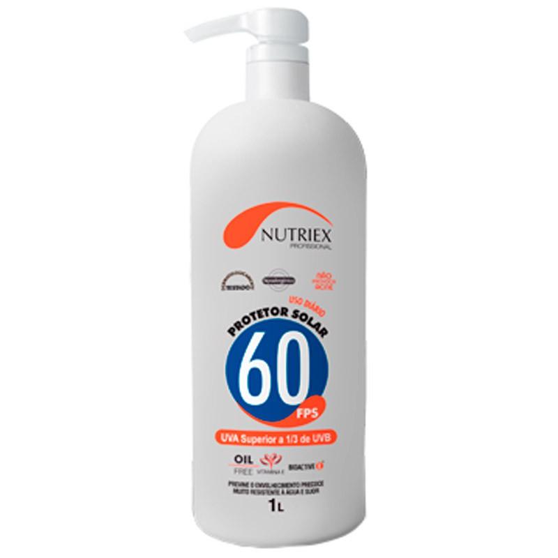 Protetor Solar FPS60 1 L NUTRIEX