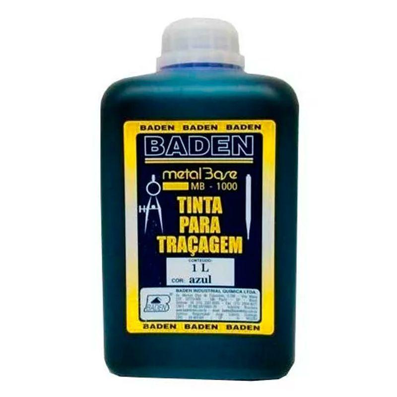 Tinta P/ Traçagem 1L Azul Baden