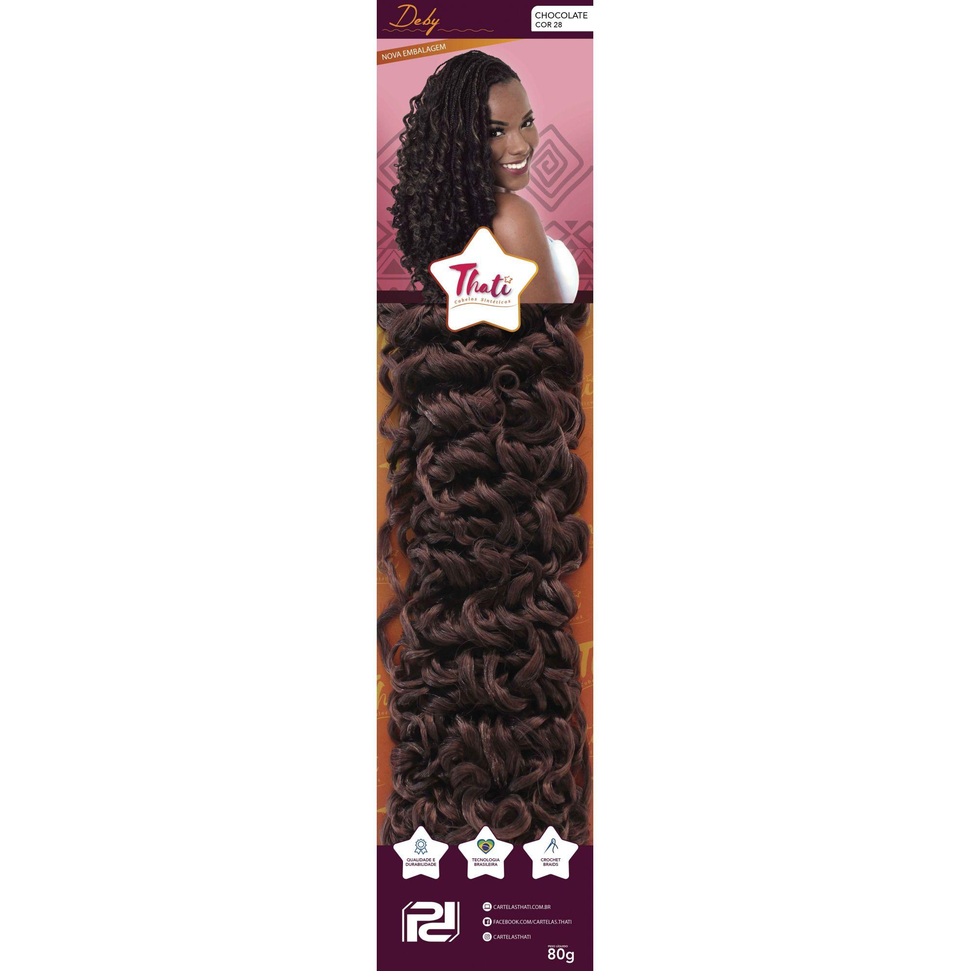Kit Cartelas Thati Deby - Cor 28 Chocolate (Kit Promocional) - Compre 4, leve 5!