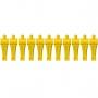 Bonecos Pebolim / Totó Amarelo - 11 unidades