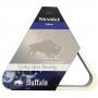 Triângulo Branco Ajustador De Bolas - Buffalo 54mm