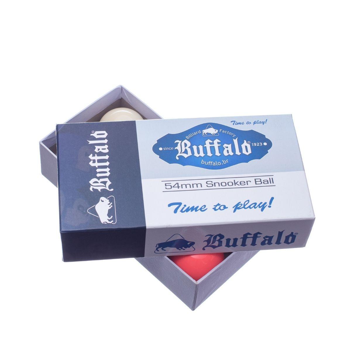 Bolas de Sinuca Buffalo Regra Brasileira 54mm