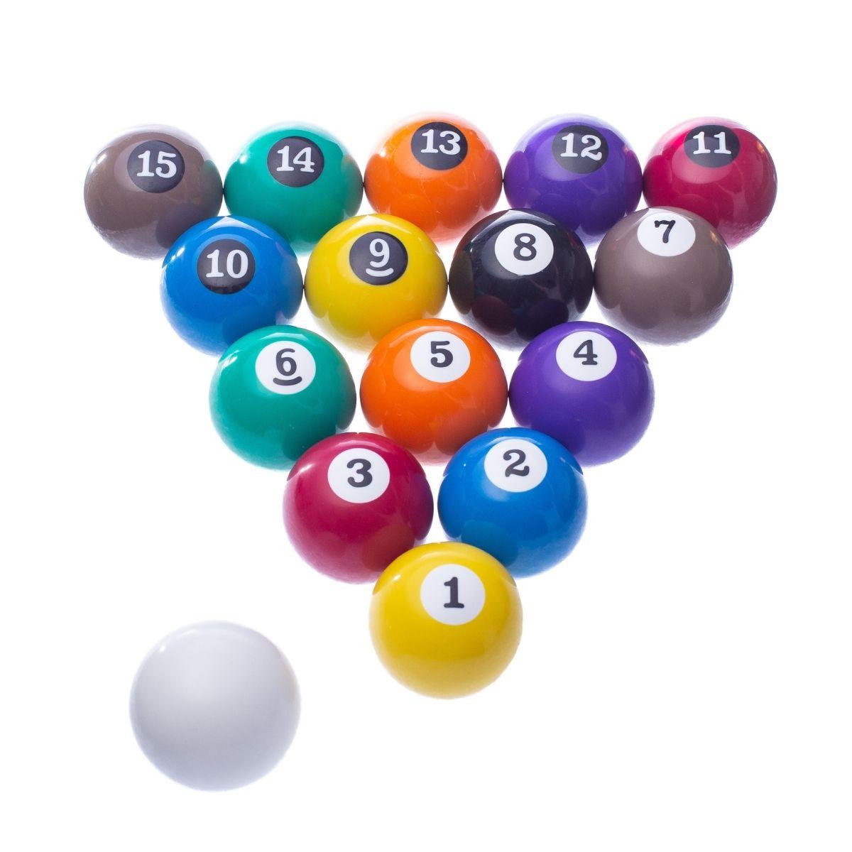 Bolas Numeradas Para Sinuca Bilhar 16 bolas - 50mm