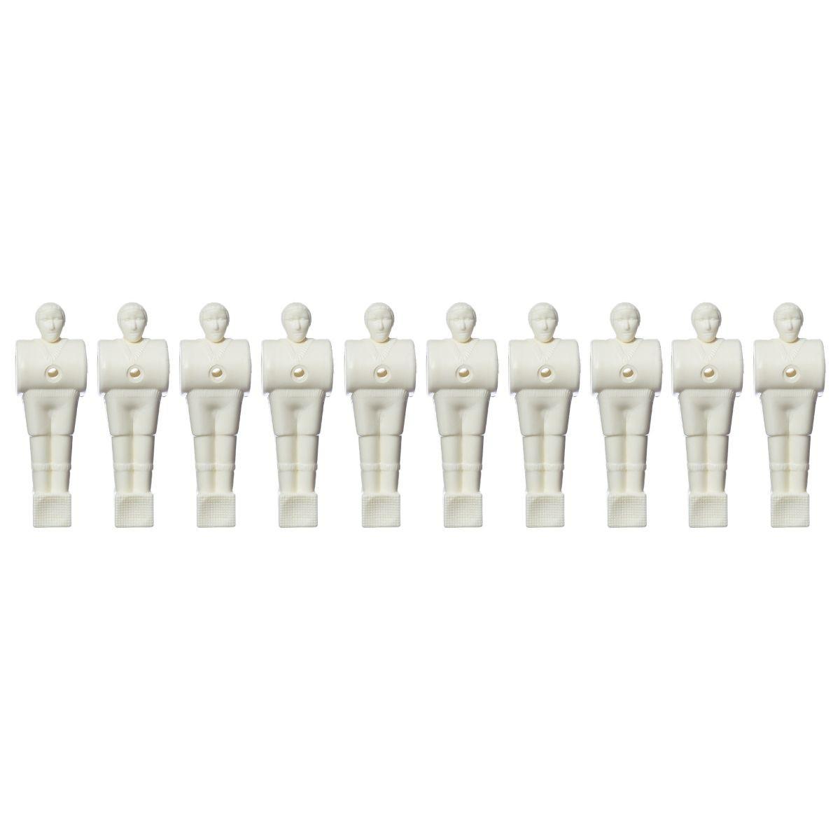 Bonecos Pebolim / Totó Branco - 11 unidades