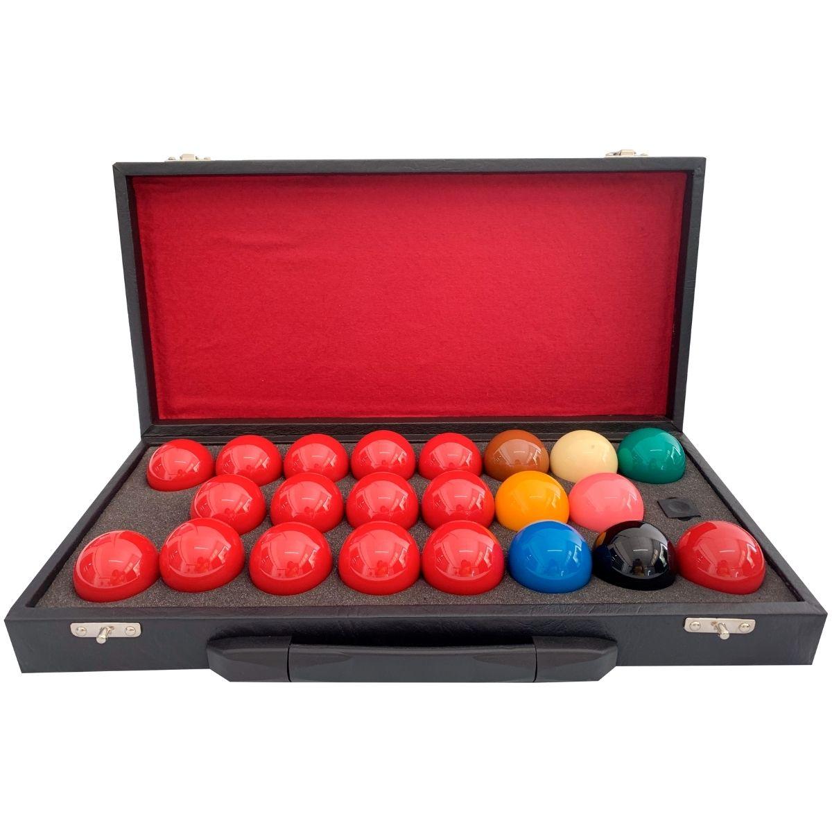 Estojo Para Jogo De Bolas Regra Inglesa Snooker / Sinuca