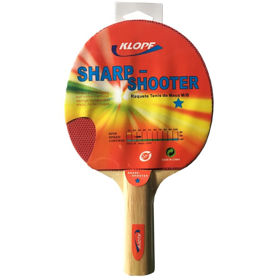 Raquete Para Ping Pong / Tênis De Mesa - Klopf