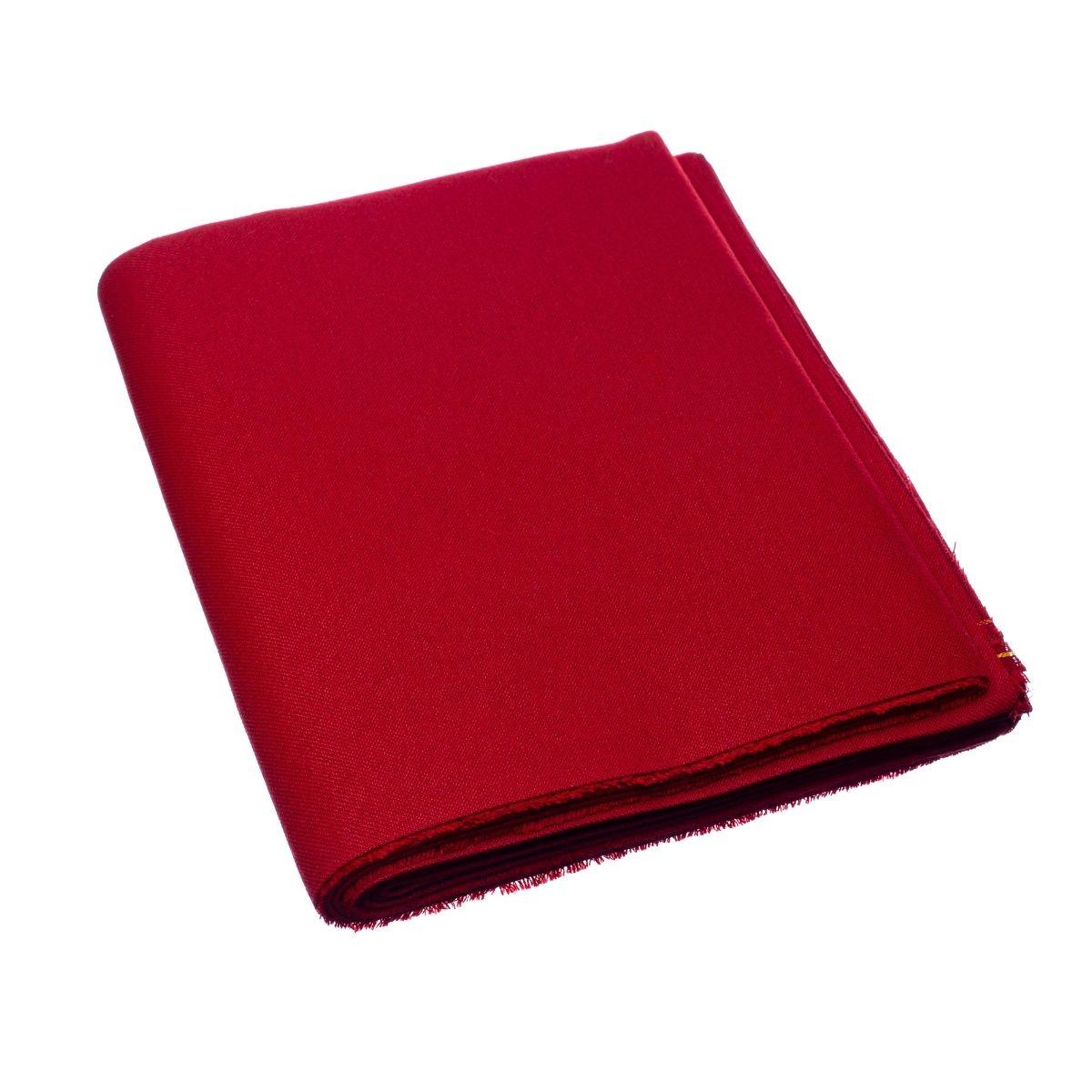 Tecido Para Mesa De Bilhar 2,25m x 2,00m - Vermelho