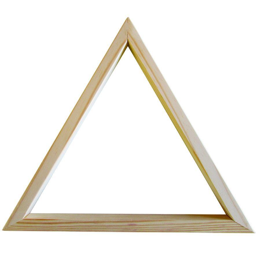 Triângulo Ajustador Para Bolas De Bilhar - Madeira