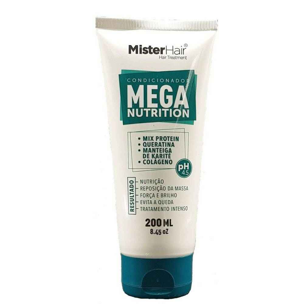 CONDICIONADOR MEGA NUTRITION - MISTER HAIR - 200ML