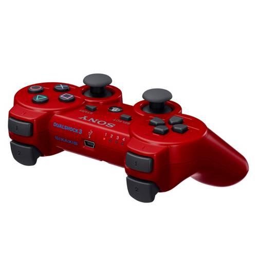 Controle Ps3 Dualshock 3 Bluetooth Ou USB Playstation 3 Vermelho