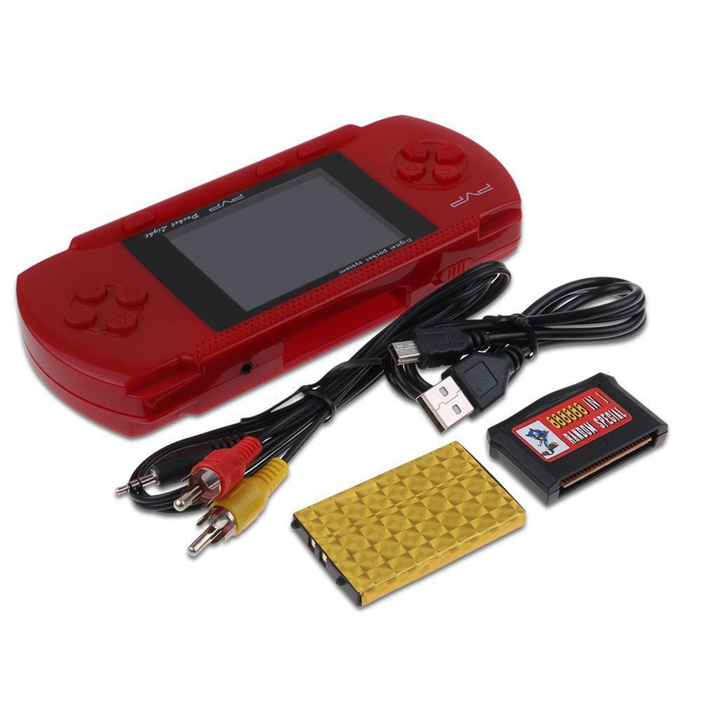 Video Game Psp PVP Game Boy Portátil Digital Vermelho