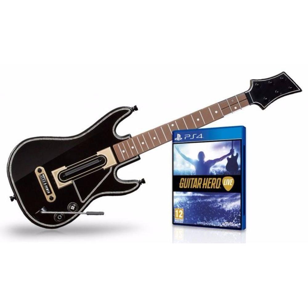 Guitar Hero Live Bundle Com Guitarra - Ps4 - Mostruário