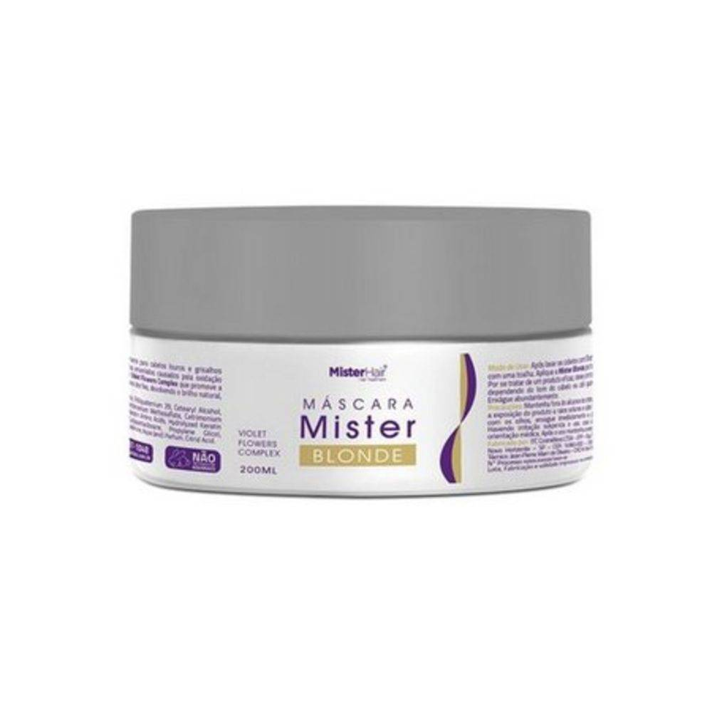 Máscara Mister Blonde - Mister Hair - 200ml
