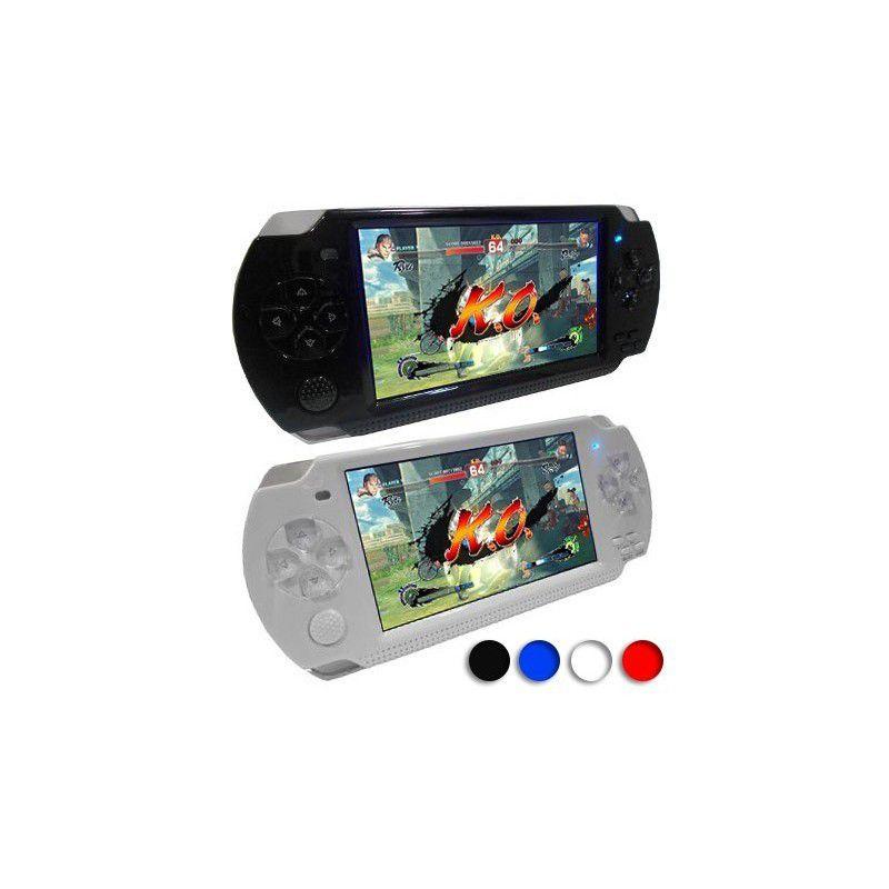 Video Game Portátil GBA-GBC Game Player 3D - Branco 10000 Mil jogos