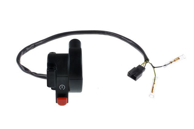 Interruptor de Partida e Emergência Honda CG 150 Fan Esdi 2015, 160 Fan Esdi 2015 à 2019 - Duas Barras