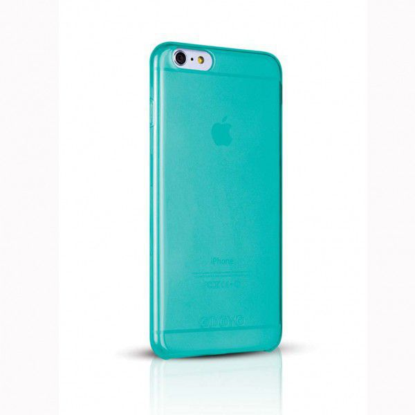 CAPA PREMIUM Azul IPHONE 6 PLUS / 6S PLUS 360 Brilho