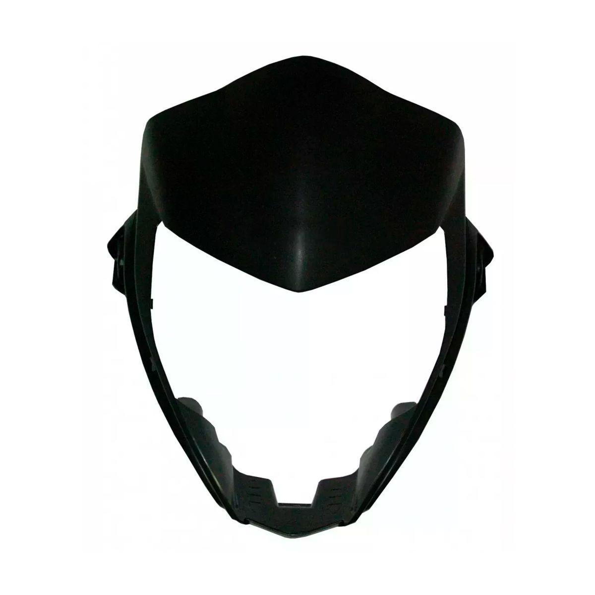 Máscara do Farol Honda CB 300R 2009 a 2013 Grafite Fosco Injetado - Carenagem Sportive