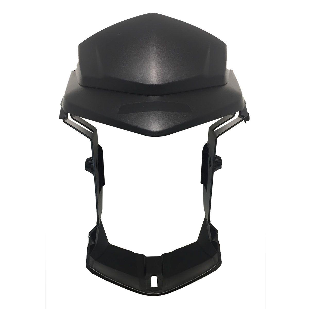 Máscara do Farol Honda CG 125 Fan, 150 Titan Ks/Es/Esd 2014 Preto Injetado - Carenagem Sportive