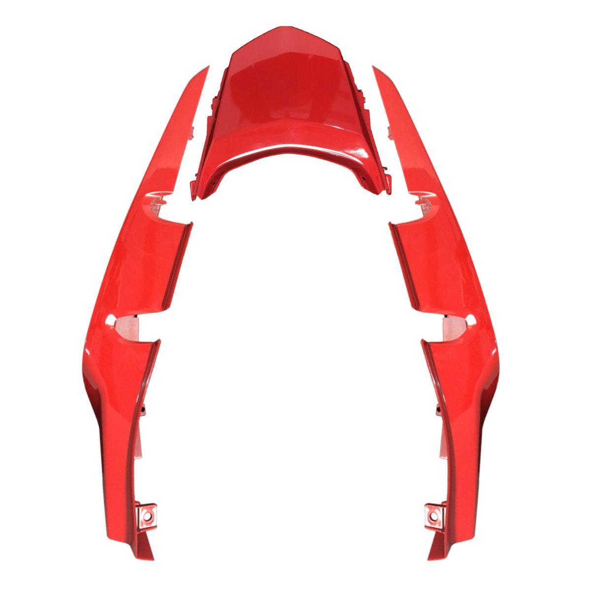 Rabeta Traseira Honda CG 150 Titan Esd/Ex 2015 Vermelho - Carenagem Sportive