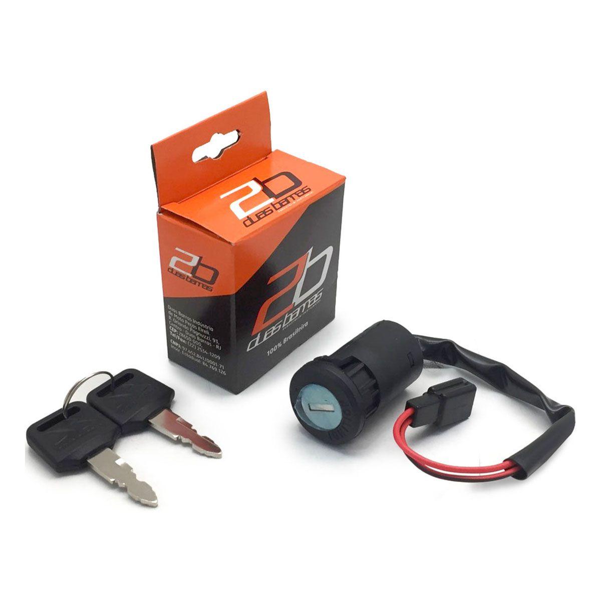 Chave Ignição Honda CG 125 Titan Es/Ks/Kse, CG 125 Fan Ks - Chave Contato - Duas Barras