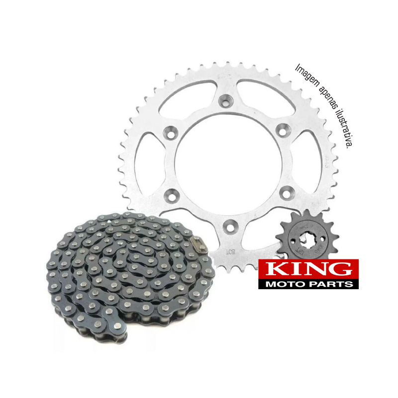 Kit Relação Honda NXR Bros 125 03-05 13-15, King