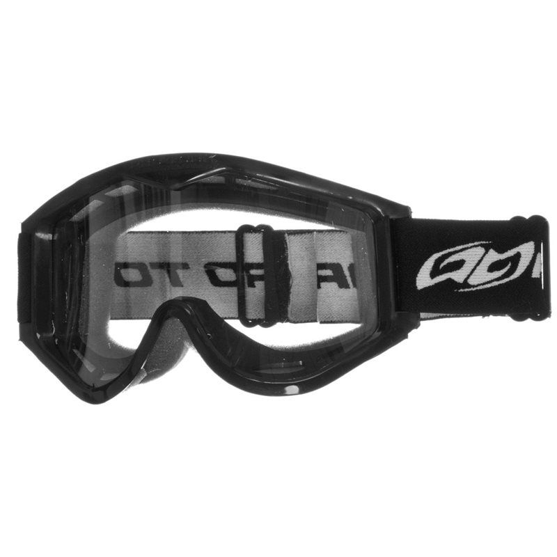 Óculos Motocross Trilha Cross 788 - Lentes Lexan - Preto - Pro Tork