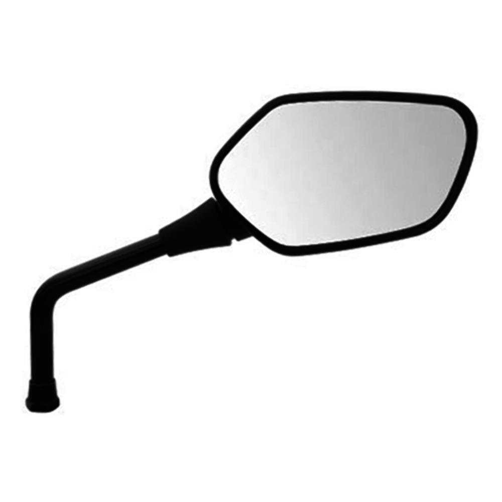 Espelho Retrovisor - Lado Direito - Honda CB 300R 2011 - Rosca Universal Honda - Lente Convexa - Preto - GVS
