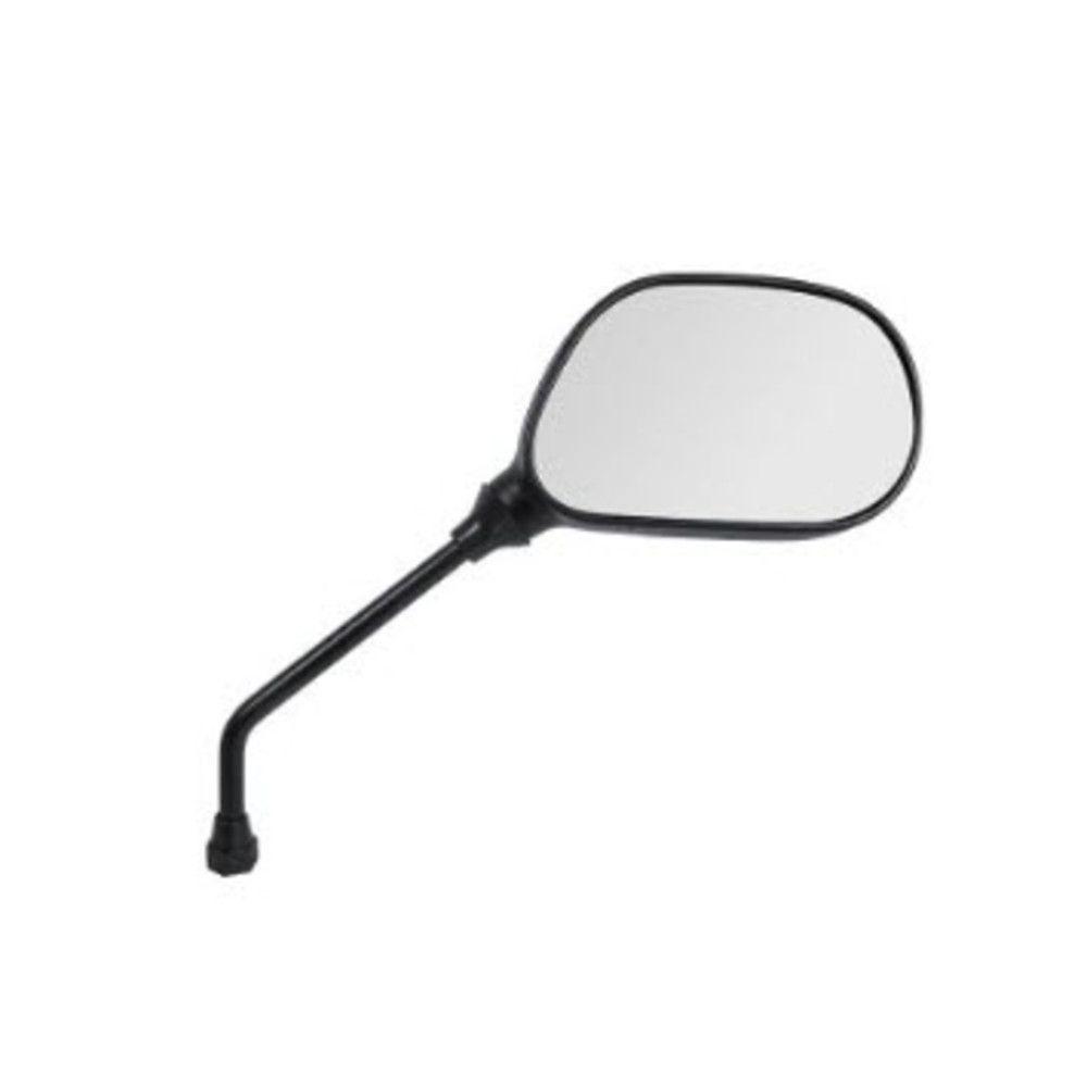 Espelho Retrovisor - Lado Direito - Padrão Yamaha YBR - Rosca Universal - Lente Plana - Pro Tork