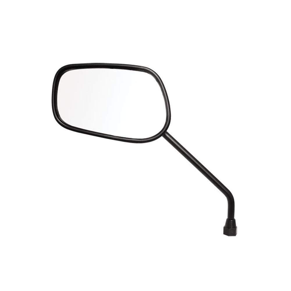 Espelho Retrovisor - Lado Esquerdo - Padrão Honda CG Titan 2000 - Rosca Universal - Lente Plana - Pro Tork