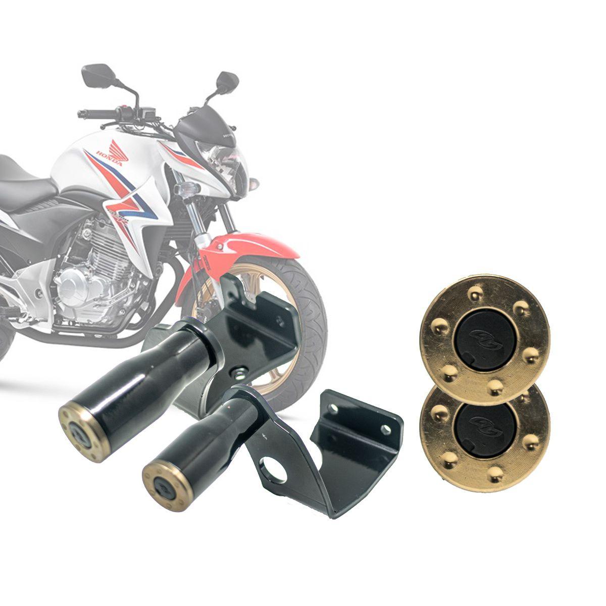 Slider Protetor Motor Honda CB 300R 2009 à 2015 - Preto - Pro Tork