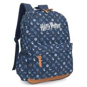 Mochila de Costas Harry Potter Azul