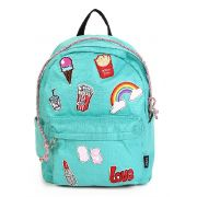 Mochila de Costas Up4You Patches Verde MS45603UP-TQ