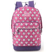 Mochila Escolar Infantil Up4you Panda Roxa MS45579UP-RX