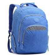 Mochila Escolar para Notebook Seanite Azul ML14008