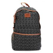 Mochila Feminina Up4You Floral Preto MS45597UP-PT