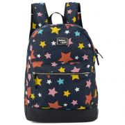 Mochila Feminina Up4you Larissa Manoela Jeans para Notebook MS48489UP-AZ-E