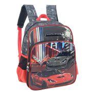 Mochila Infantil Corvette Luxcel Vermelho