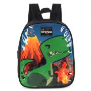 Mochila Infantil Petit Dinossauro preto IS33814UP
