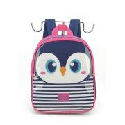 Mochila Infantil Pinguim
