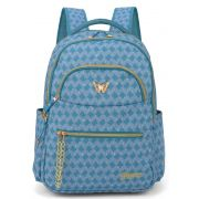 Mochila Infantil Princess Azul MS45632PS-AZ