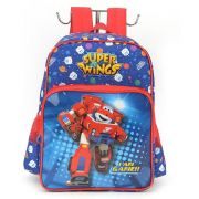 Mochila Infantil Super Wings Azul IS32691SW
